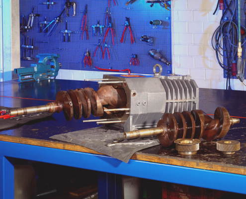 vacuum pumps repair and sale of spare & wear parts